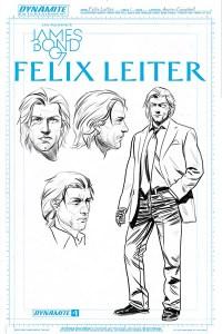 Felix Leiter comics (5)