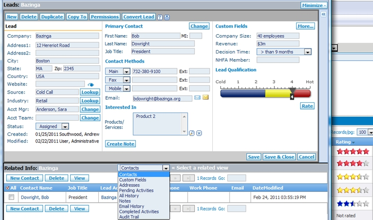 Sales Management Software a Breeze with Commence CRM