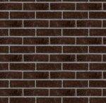 Dark Brown Brick Wall Texture Seamless