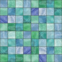 Blue Green Glass Tile Background Seamless Background Or ...