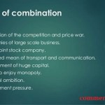 causes of business combination