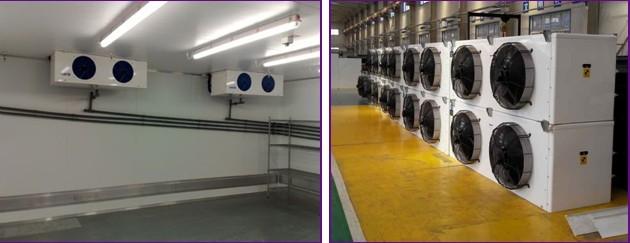 Sliding Door Large Capacity Cold Storage Unit Walk In