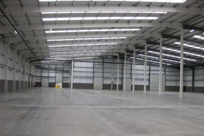 adg architects completes 1 5 million specialist warehouse for darlington haulier commercial. Black Bedroom Furniture Sets. Home Design Ideas