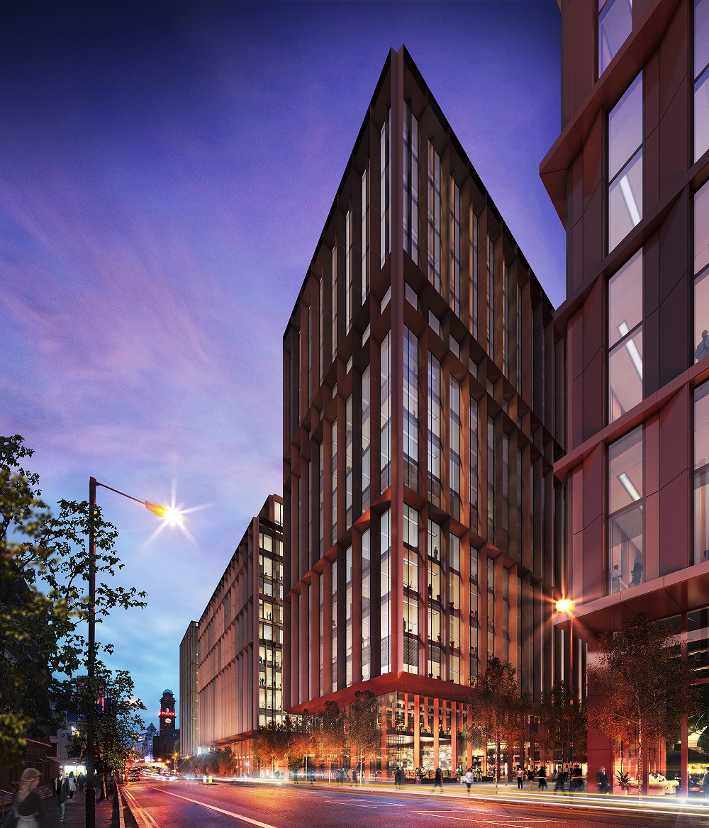 Commercial Lighting Manchester: Manchester's Circle Square Gets Green Light For Largest