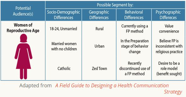 How to Do Audience Segmentation The HIV/AIDS Network