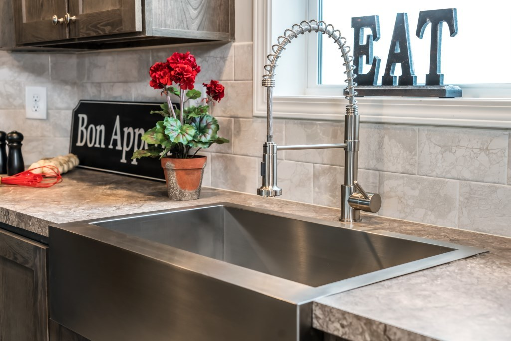 Stainless Steel Farmhouse Sink R Anell Homes