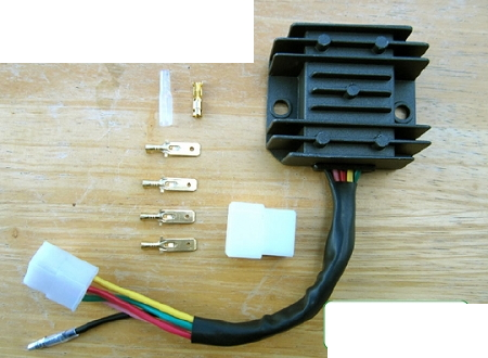 Honda Rectifier / Regulator CB350 / CB360 / CB450 / CB500T Common