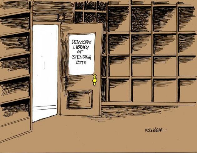Democrat Library Of Spending Cuts