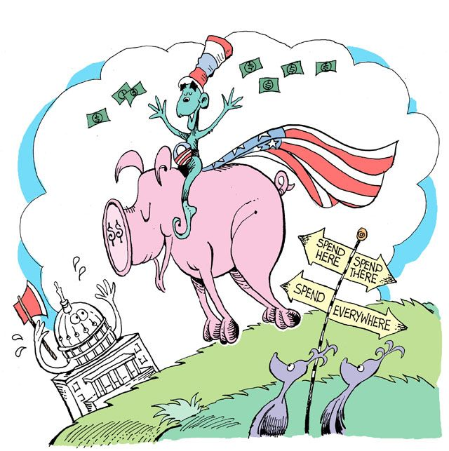 Obama And The Seuss-Quester