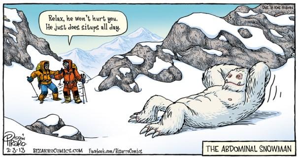 The Abdominal Snowman