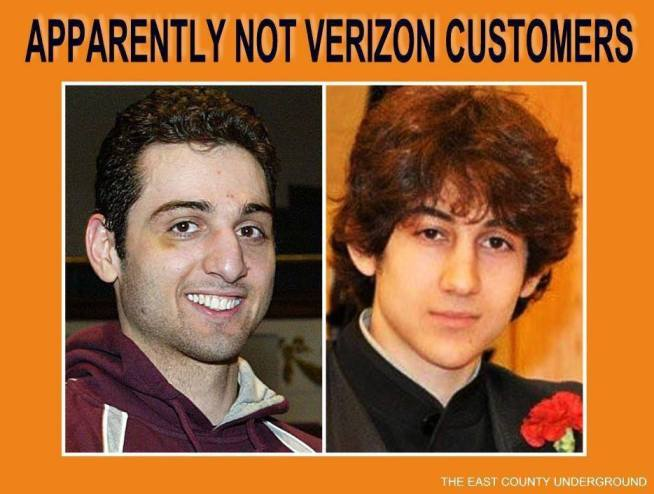 Not Verion Customers