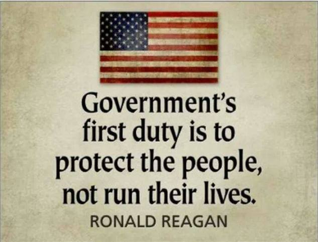 Government's First Duty
