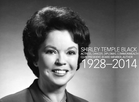 Home Screen Wallpaper With Quotes In Memoriam Shirley Temple Black Commonwealth Club