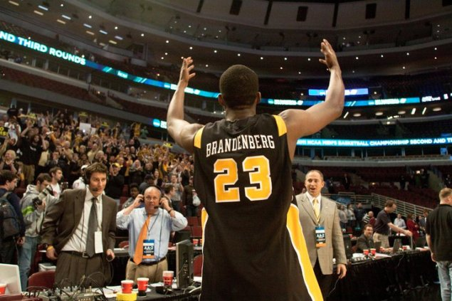 Rob Brandenberg received an offer from Butler in 2009, but found VCU more fitting. (Photo by Kyle LaFerriere)