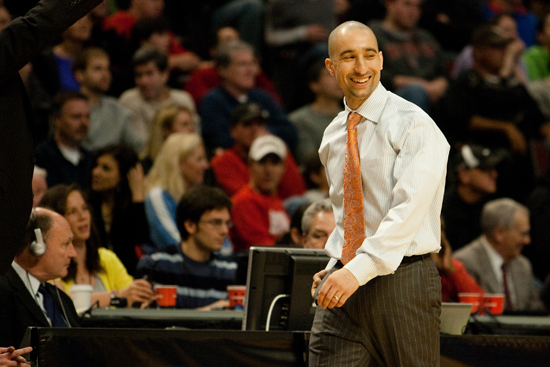 Shaka Smart is under contract with VCU through 2023. Photo by Chris Conway