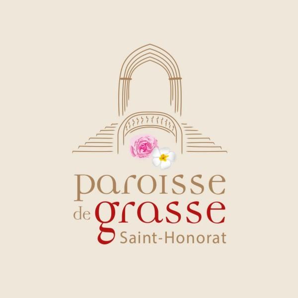 Logo de la paroisse de Grasse