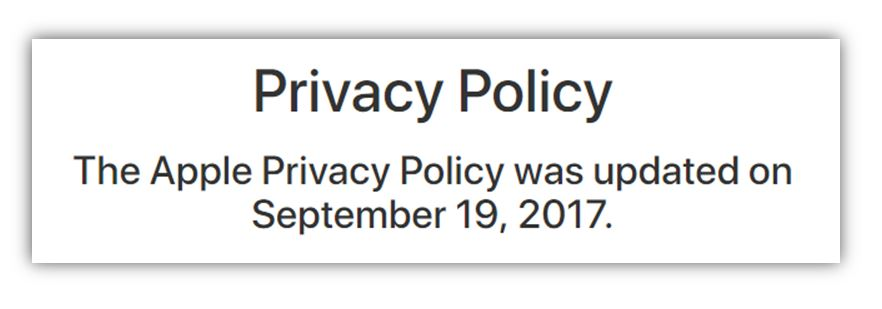GDPR QA - Privacy Policies Communicator - privacy statement