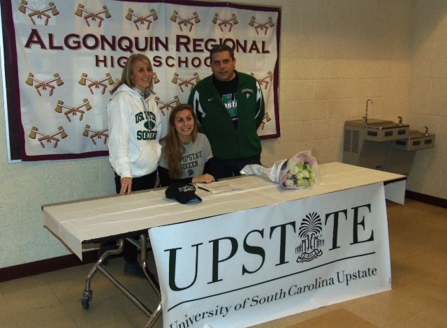 Three Algonquin students participate in National Letter of Intent