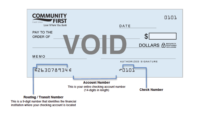 Checking Accounts from Community First Credit Union - Community First