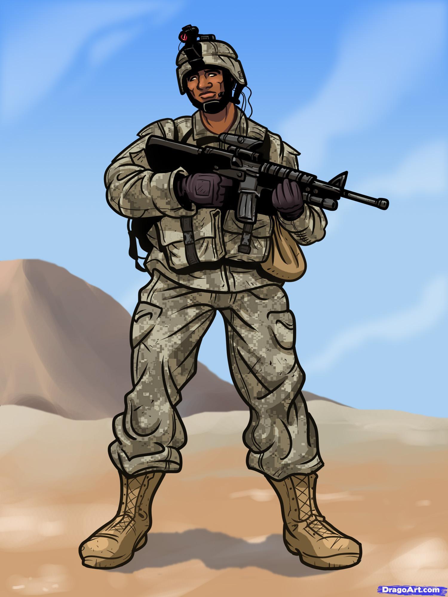 Australian Girl Wallpaper Como Desenhar Um Soldado Muito F 225 Cil Aprender A Desenhar