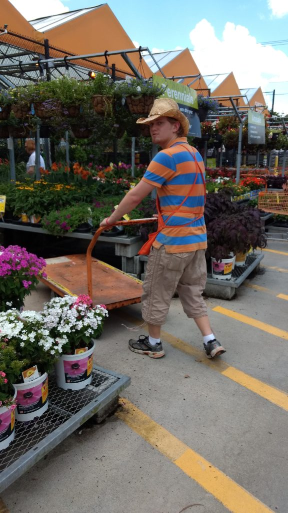 Ben Finds a Perfect Match in Home Depot Community Options, Inc
