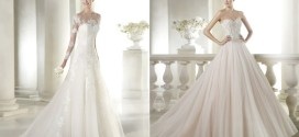 4 vestidos de novia por San Patrick
