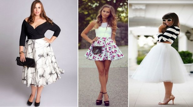 modas de faldas 2015