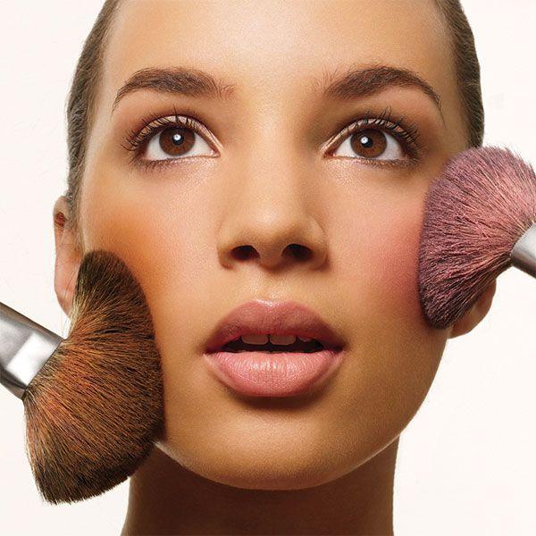 Maquillaje natural para pómulos