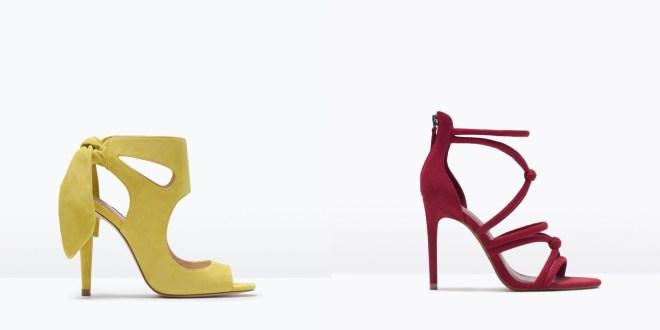 Nuevas sandalias de Zara para Primavera 2015