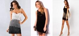 Para estar a la moda, no te olvides de los vestidos de flecos