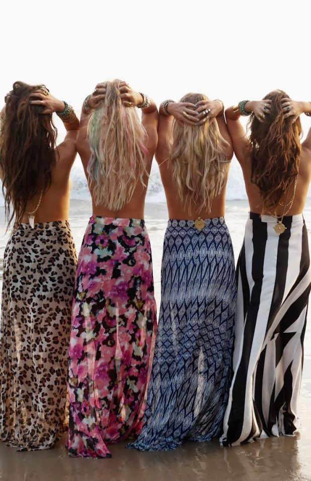 Maxi-faldas para verano