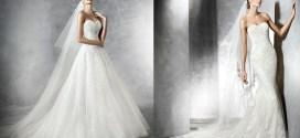 Impresionantes los vestidos de Pronovias 2016