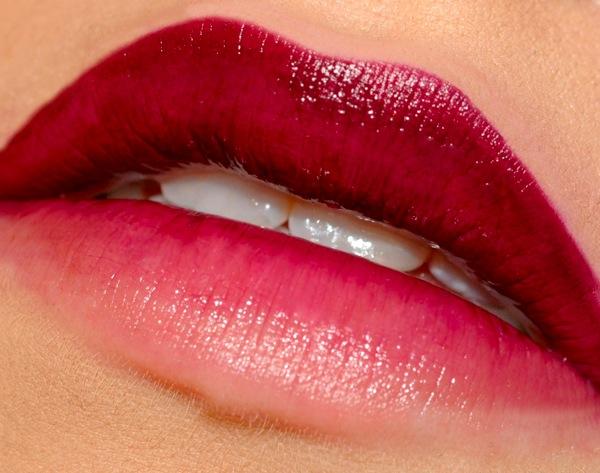 labios degradados