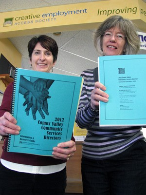 Helpful community services directory gets annual update - Comox - community service directory