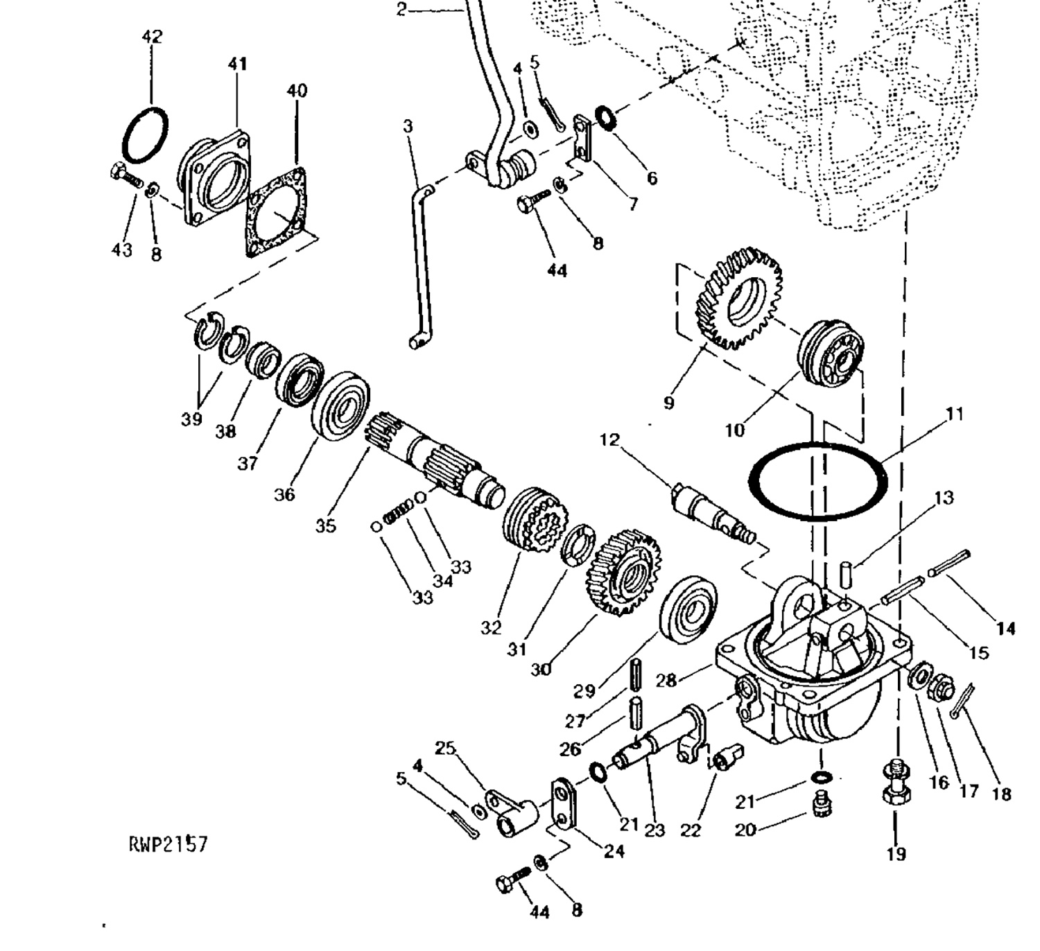 john deere parts schematic