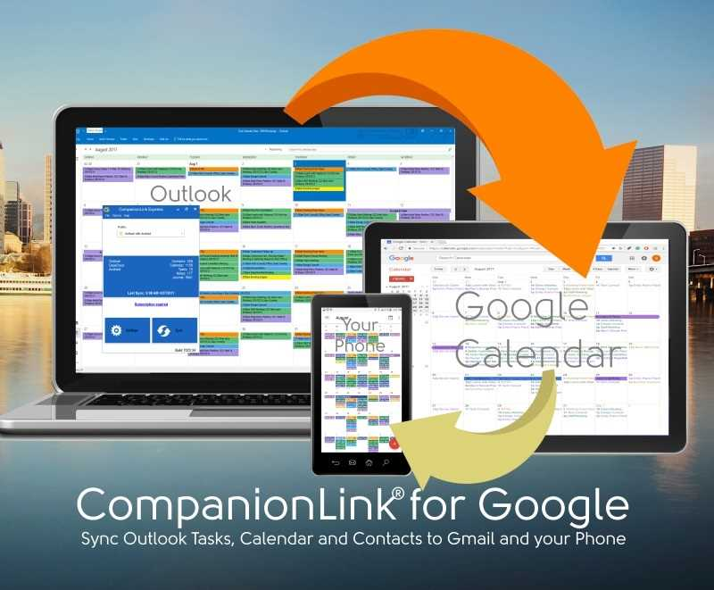 Sync Google Calendar with Outlook - CompanionLink for Google