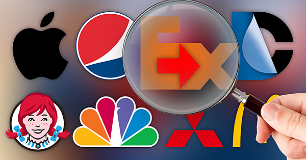 25 Famous Company Logos  Their Hidden Meanings