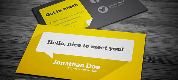 Business Card Design Tips Top Ideas for Designers in 2018
