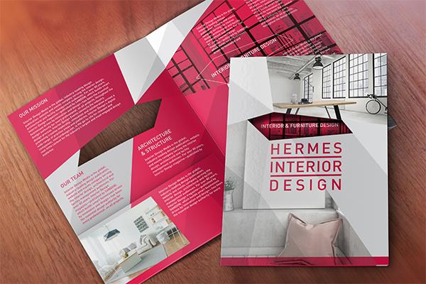 Print Design Services Get Brochures, Postcards, Flyers Designs - interior design flyers
