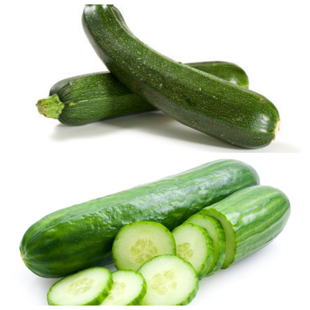 Fullsize Of Zucchini Vs Cucumber