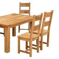 trafalgar oak furniture dining tables and chairs