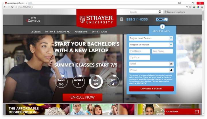 Strayer University Reviews - Comparison Shop