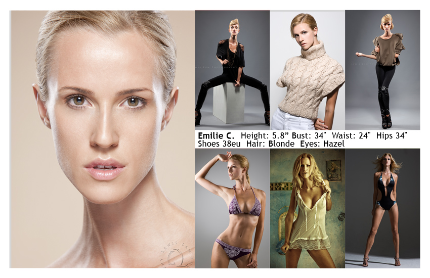 DC Modeling Agency Comp Cards Modeling Agency in NYC New York - how to make a modeling resume