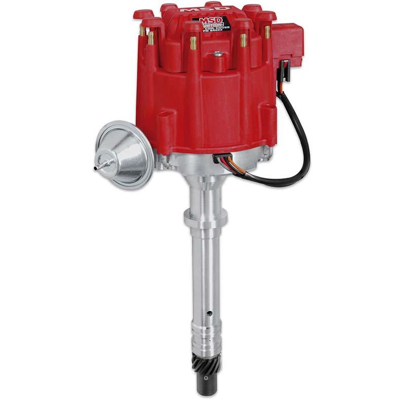 MSD Ignition, Pro-Billet GM HEI Distributor, w/ Vacuum Advance, Chev