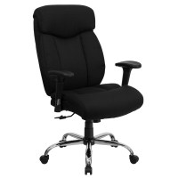 Big and Tall Office Chairs - Hercules Series Black Fabric ...