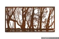 Metal art: enhancing your outdoor area - Completehome