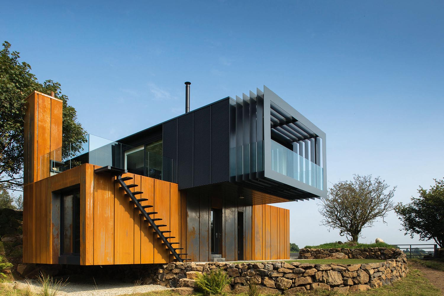 Grand Designs County Derry Shipping Container House Completehome