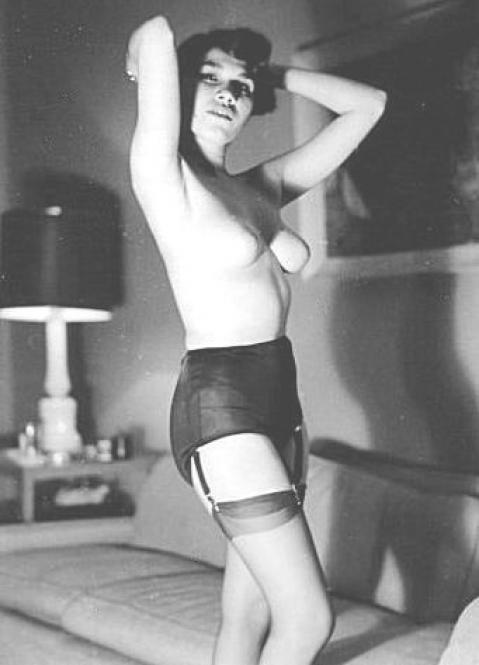 Vintage garter belts and stockings softcore
