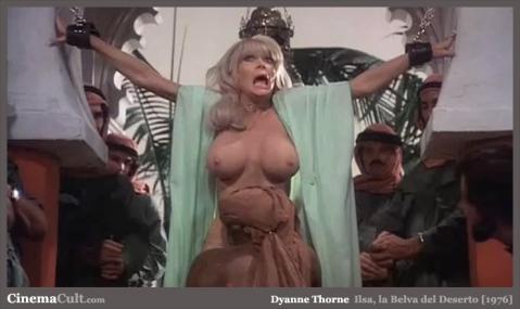 Dyanne Thorne Nude Sexy Scene Desert Vintage Porn Retro Wet