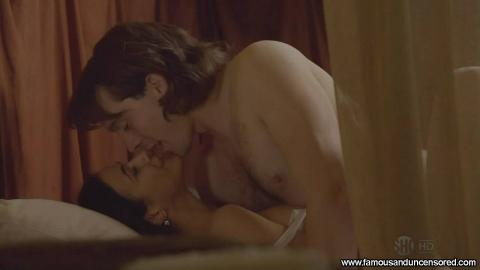 Emmanuelle Chriqui Nude Sexy Scene The Borgias Flashing Bar
